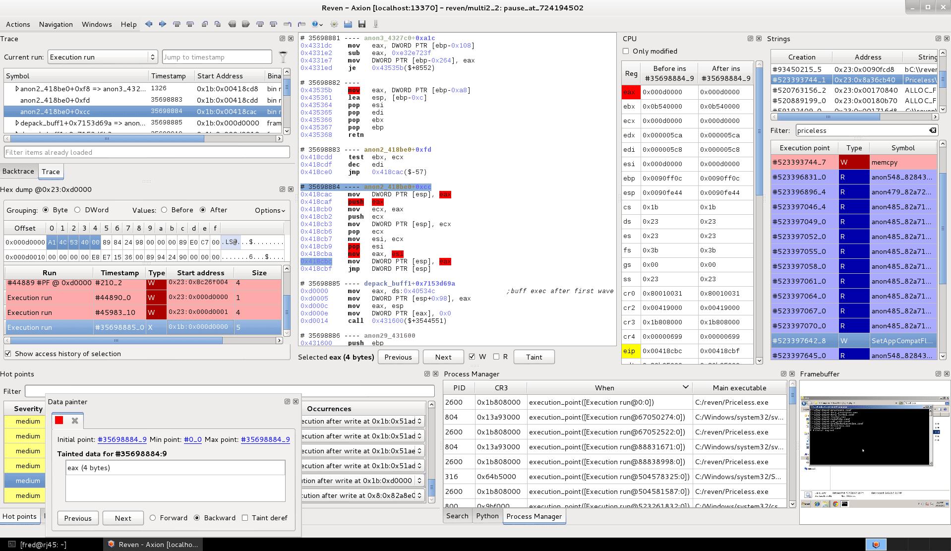 REVEN-Axion screenshot