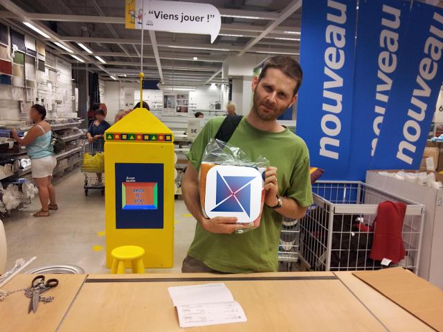 Frédéric à Ikea